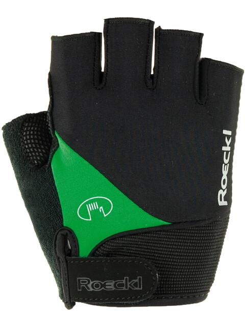 Roeckl Napoli Handschuhe schwarz/grün